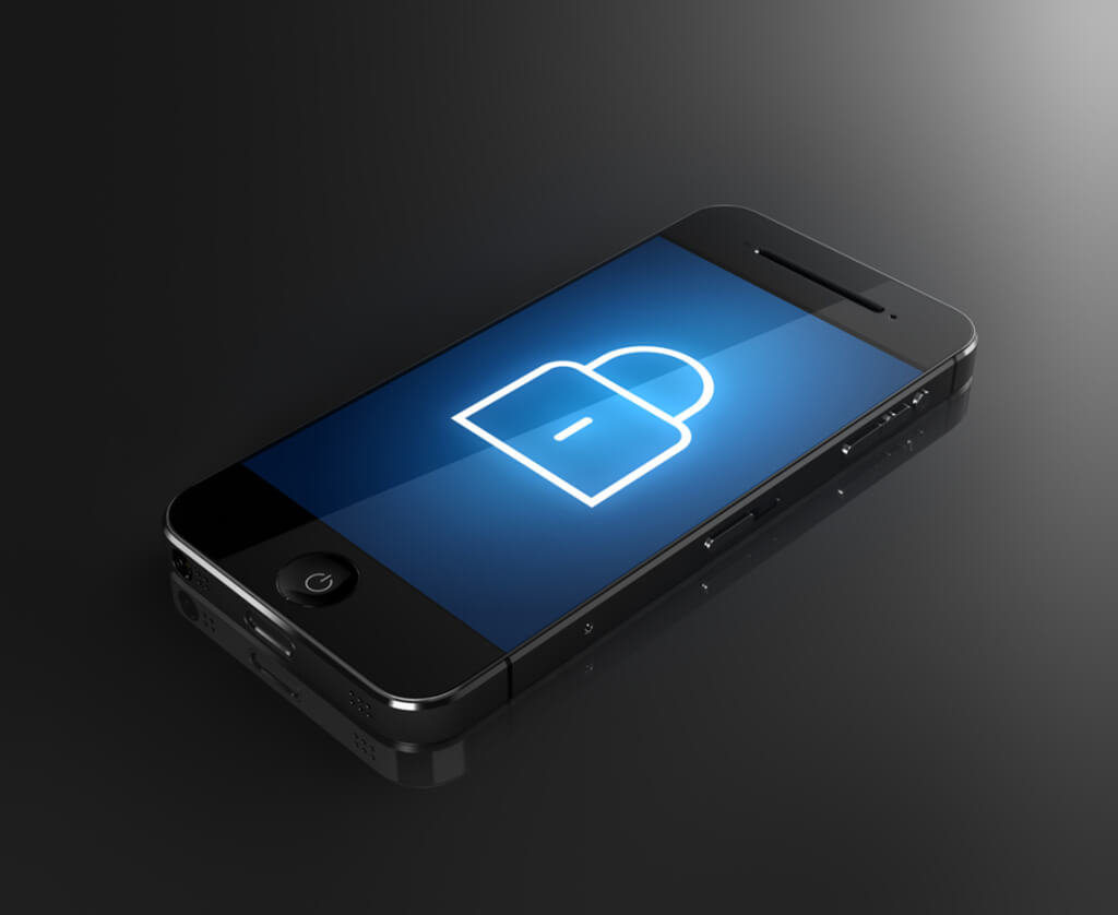 Mobile phone lock